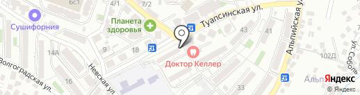Сочинский хлебокомбинат на карте Сочи