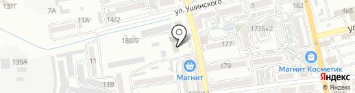 Батайская автомобильная школа на карте Батайска