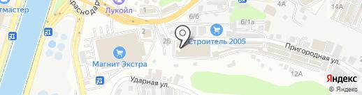 Оптовый склад сувениров на карте Сочи