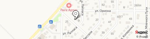 Автокомплекс на карте Темерницкого