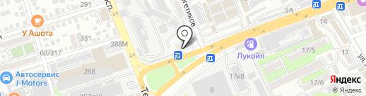 Автосвет на карте Ростова-на-Дону