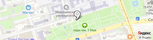 Имидж на карте Ростова-на-Дону