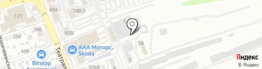 СВП на карте Ростова-на-Дону