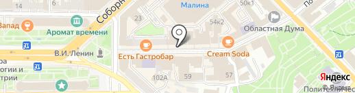 Карась на карте Рязани