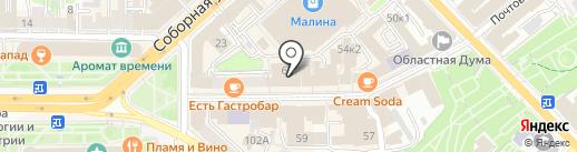 Муниципальный центр торгов на карте Рязани