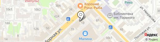 МОСТ на карте Рязани