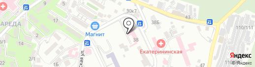 Онкологический диспансер на карте Сочи