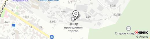 Искра на карте Сочи