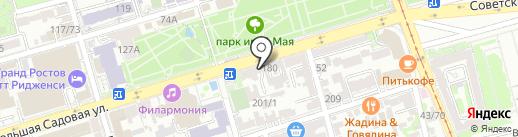 Face на карте Ростова-на-Дону
