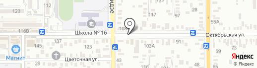 Золотой колос на карте Батайска