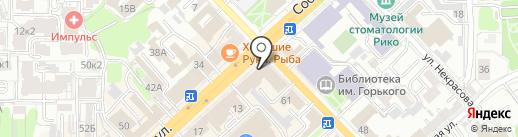 Мировые судьи Октябрьского района на карте Рязани