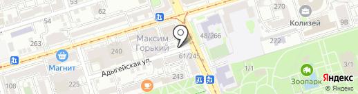 Логопедический кабинет на карте Ростова-на-Дону