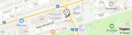 Медмаркет групп на карте Ростова-на-Дону