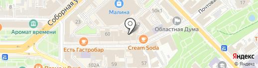 FV62RU на карте Рязани