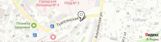 Комфорт на карте Сочи