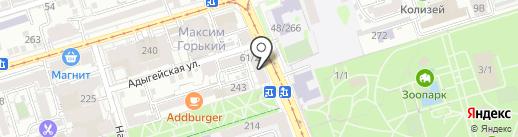 РоссТур на карте Ростова-на-Дону