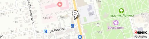 Центр гигиены и эпидемиологии в Ростовской области на карте Батайска