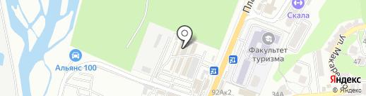 Вертодром на карте Сочи