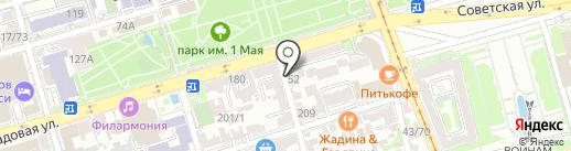 Мастерская на карте Ростова-на-Дону