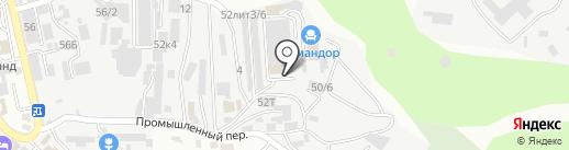 САТЕЛЛИТ на карте Сочи