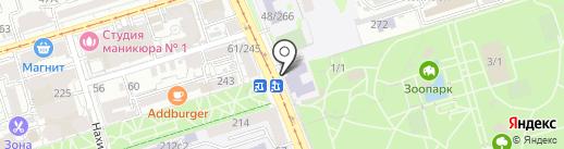Платежный терминал, КБ Центр-инвест, ПАО на карте Ростова-на-Дону