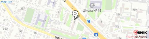 Прасковья на карте Ростова-на-Дону