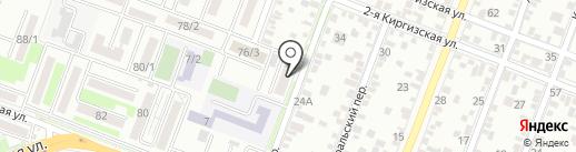 Территория красоты на карте Ростова-на-Дону