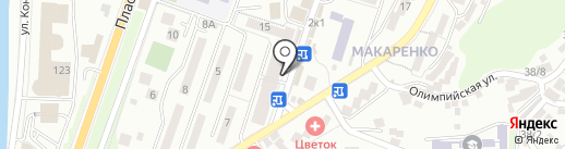 Кондитерский магазин на карте Сочи