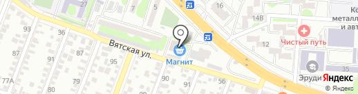 Позитив на карте Ростова-на-Дону