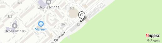 Сервисный центр на карте Ростова-на-Дону
