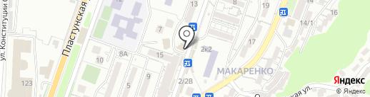 Магазин фастфудной продукции на карте Сочи