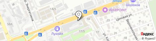 San Dianto на карте Ростова-на-Дону