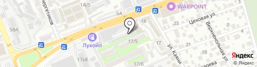ГАЗ-Сервис на карте Ростова-на-Дону