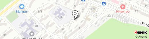 Стильные окна на карте Ростова-на-Дону