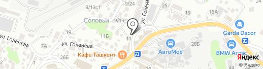 Сочинская Шинная Компания на карте Сочи