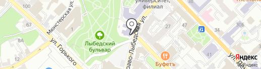 Потенциал на карте Рязани