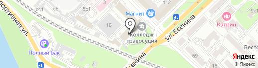 Центр бухгалтерского обслуживания на карте Рязани