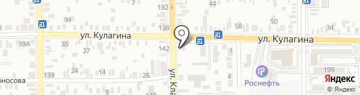 Почтовое отделение №7 на карте Батайска