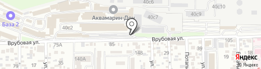 Абдулоев С.Х. на карте Ростова-на-Дону