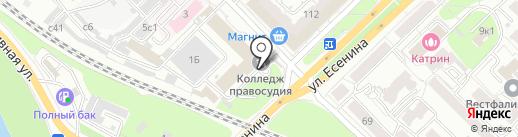 Институт законоведения и управления Всероссийской полицейской ассоциации на карте Рязани