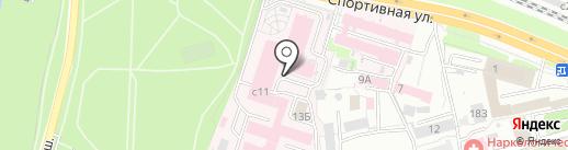 Рязанский областной клинический онкологический диспансер на карте Рязани