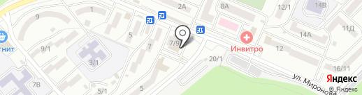 АкваЛяля на карте Ростова-на-Дону