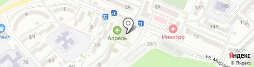 РСТ на карте Ростова-на-Дону