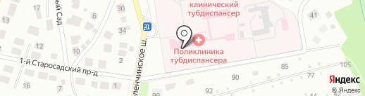 Рязанский областной клинический противотуберкулезный диспансер на карте Рязани