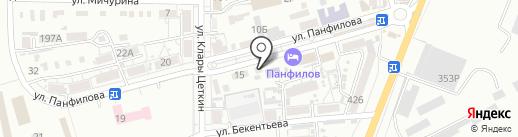 Библиотека им. Л.Н. Толстого на карте Батайска