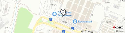 Синдерелла на карте Ростова-на-Дону