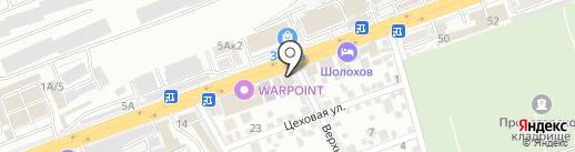 Грундфос на карте Ростова-на-Дону