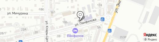 Владимир на карте Батайска