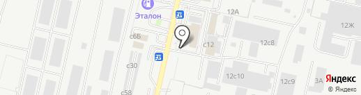 Союз-ск на карте Рязани
