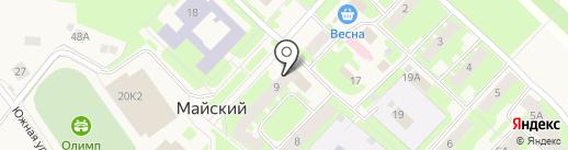 Банкомат, Сбербанк, ПАО на карте Майского